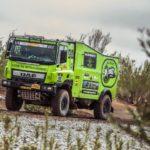 Paris-Dakar truck van William van Groningen